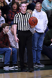 07 January 2017:  Cody Crum during an NCAA men's division 3 CCIW basketball game between the Wheaton Thunder and the Illinois Wesleyan Titans in Shirk Center, Bloomington IL