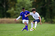 Camden County College Men's Soccer vs Bergen County Community College in Blackwood, NJ on Saturday September 30, 2017. (photo / Mat Boyle)