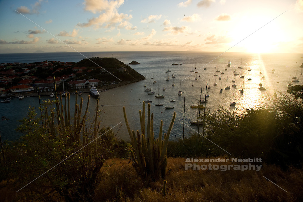 Gustavia, St Barthes - Views of the Harbor