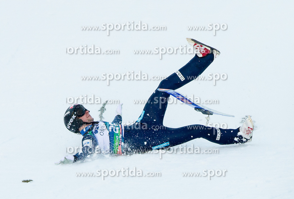 BARDAL Anders of Norway felt during the Flying Hill Individual Competition at 2nd day of FIS Ski Jumping World Cup Finals Planica 2013, on March 22, 2012, in Planica, Slovenia. (Photo by Vid Ponikvar / Sportida.com)