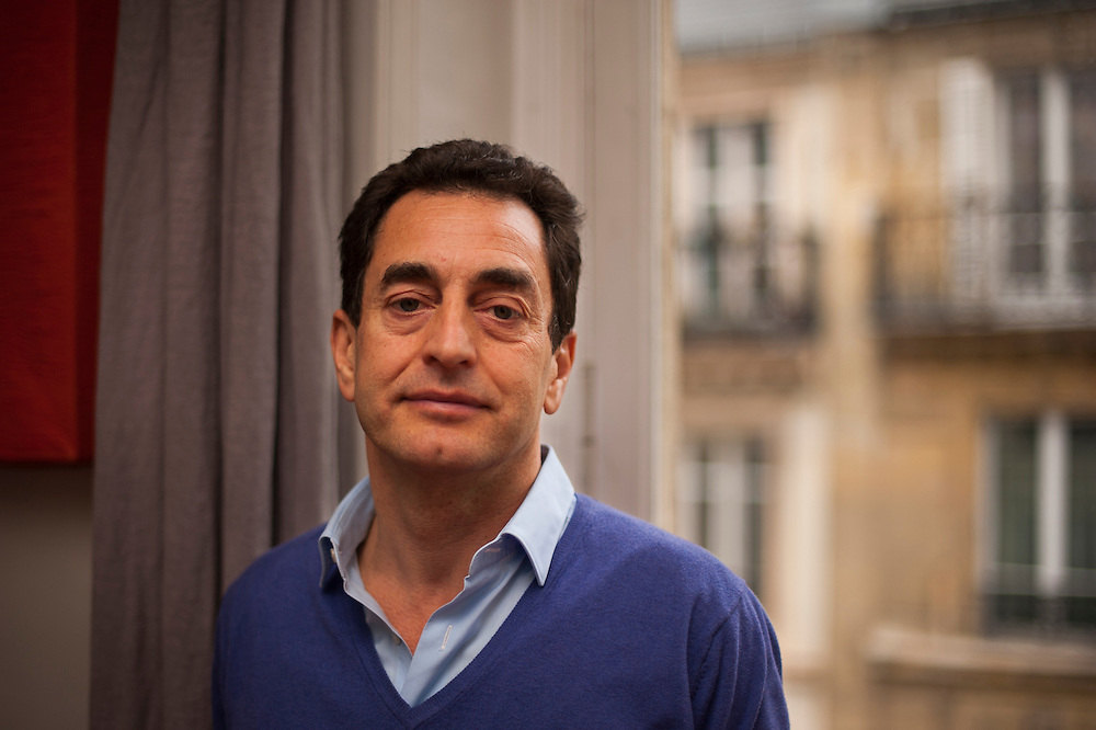 Eric Chevallier, France's ambassador to Syria, in his Paris' appartment.<br /> <br /> &Eacute;ric Chevallier, ambassadeur de France en Syrie
