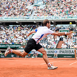 Richard Gasquet of France during Day 7 of the French Open 2018 on June 2, 2018 in Paris, France. (Photo by Baptiste Fernandez/Icon Sport)