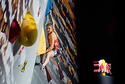 Petra Klingler of Switzerland  during Women's combined Final at the IFSC Climbing World Championships Innsbruck 2018, on September 16, 2018 in OlympiaWorld Innsbruck, Austria, Slovenia. Photo by Urban Urbanc / Sportida