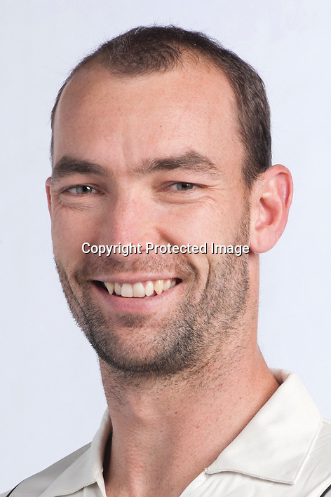 Andy McKay, New Zealand Black Caps cricket headshots. 2011/12 season. Photo: NZ Cricket