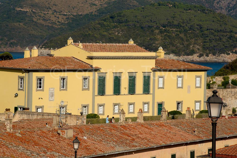 Portoferraio. Villa dei Mulini, main Napoleon's residence.