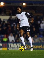 St Andrews Ground Birmingham City v Fulham (1-0) Premier League 21/11/2009<br /> Dickson Etuhu (Fulham)<br /> Photo Roger Parker Fotosports International