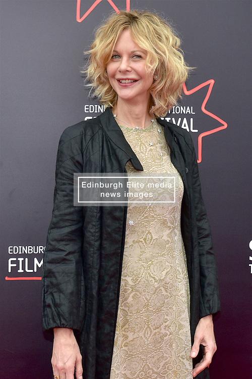 Meg Ryan will makes her directorial debut at the 2016 Edinburgh International Film Festival, UK PREMIERE of ITHACA at Cineworld, Edinburgh, 23rd June 2016, (c) Brian Anderson | Edinburgh Elite media