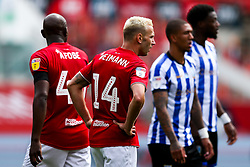 Andreas Weimann of Bristol City looks on - Rogan/JMP - 28/08/2020 - Ashton Gate Stadium - Bristol, England - Bristol City v Sheffield Wednesday - Sky Bet Championship.
