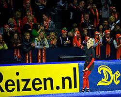 31-10-2009 SCHAATSEN: NK AFSTANDEN: HEERENVEEN<br /> Marianne Timmer op de 1000 meter<br /> ©2009-WWW.FOTOHOOGENDOORN.NL