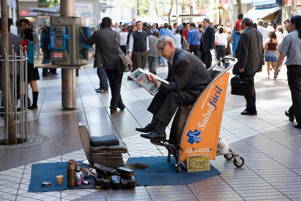 Shoeshine, Santiago, Chile