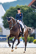 Danielle Houtvast - Utah<br /> European Championships Dressage U25 2016<br /> © DigiShots