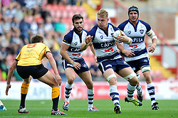Mitch Eadie of Bristol Rugby in possession - Photo mandatory by-line: Patrick Khachfe/JMP - Mobile: 07966 386802 21/09/2014 - SPORT - RUGBY UNION - Bristol - Ashton Gate - Bristol Rugby v Cornish Pirates - GK IPA Championship.