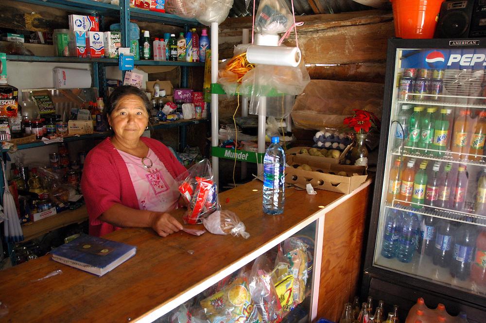"..""Inside one of the few tiendas at Santaigo Apoala"""