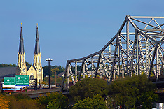 Peoria Illinois Royalty Free Stock Images
