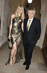 MEREDITH OSTROM and NICK RHODES at Andy & Patti Wong's annual Chinese New Year party, this year celebrating the year of the dog held at The Royal Courts of Justice, The Strand, London WC2 on 28th January 2006.<br />