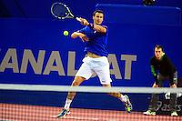 Kevin DE SCHEPPER - 05.02.2015 - Tennis - Open Sud de France- Montpellier<br />Photo : Nicolas Guyonnet / Icon Sport