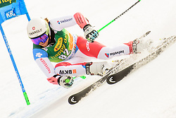 March 9, 2019 - Kranjska Gora, Kranjska Gora, Slovenia - Sandro Jenal of Switzerland in action during Audi FIS Ski World Cup Vitranc on March 8, 2019 in Kranjska Gora, Slovenia. (Credit Image: © Rok Rakun/Pacific Press via ZUMA Wire)