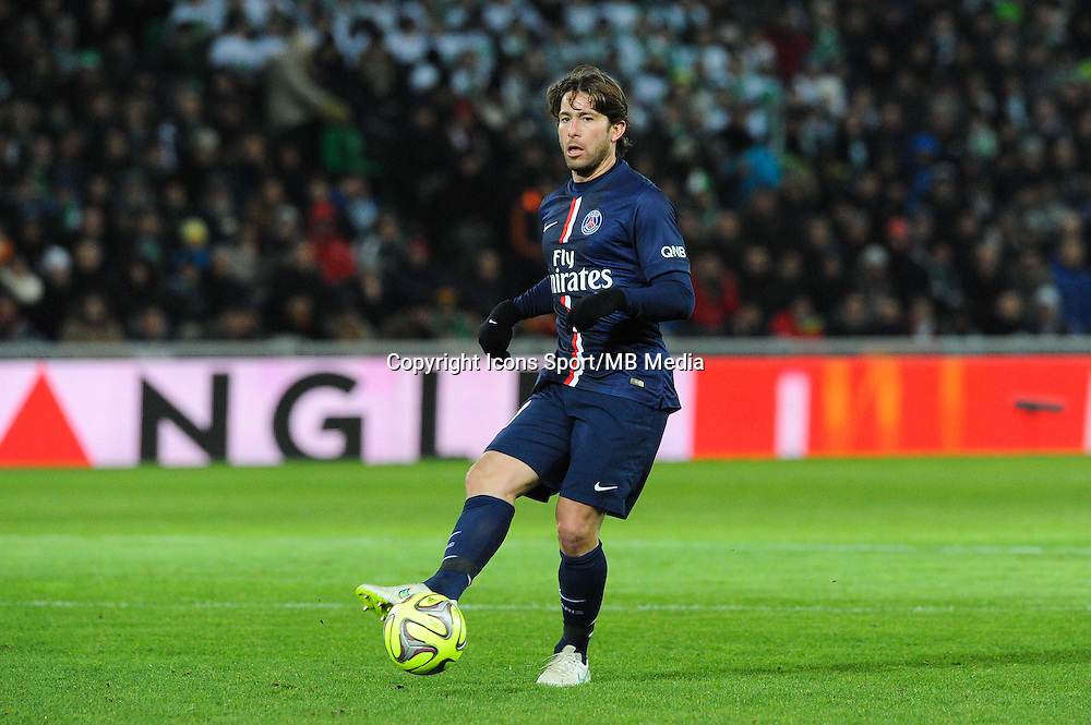 MAXWELL - 25.01.2015 - Saint Etienne / PSG - 22eme journee de Ligue1<br /> Photo : Jean Paul Thomas / Icon Sport