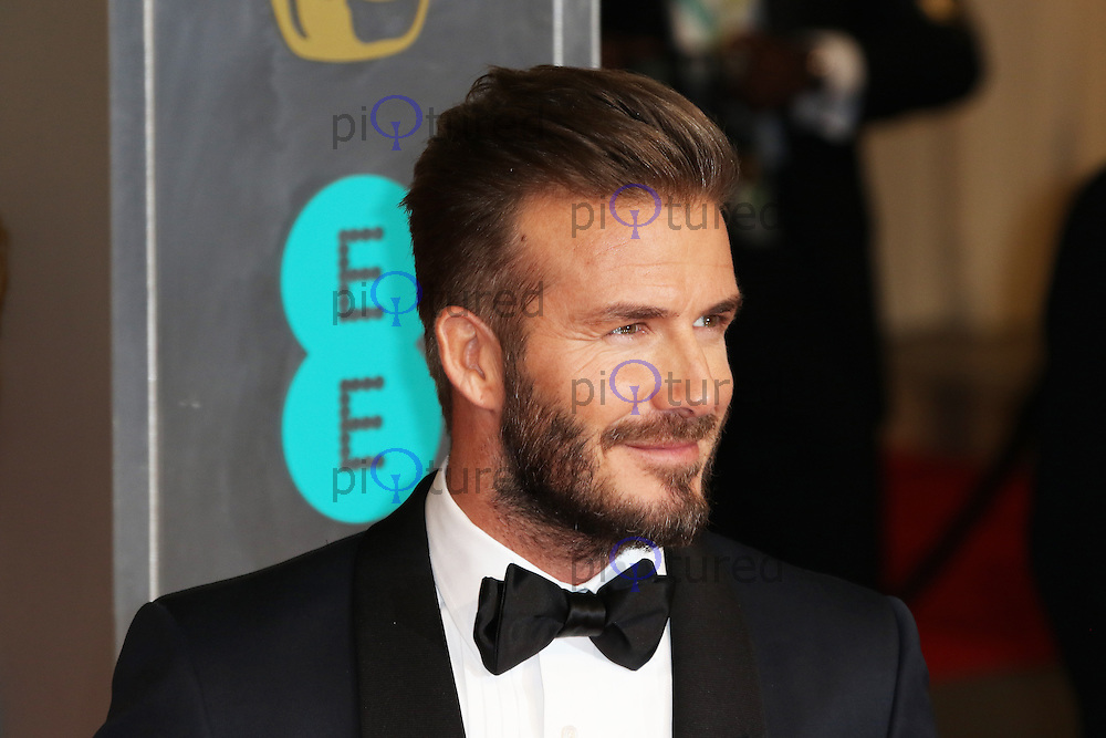 David Beckham, EE British Academy Film Awards (BAFTAs), Royal Opera House Covent Garden, London UK, 08 February 2015, Photo by Richard Goldschmidt