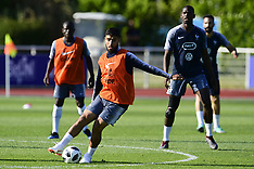 France training session - 24 May 2018