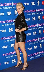 Ashley Roberts  arriving at the premiere of Powder Room,  in London, Wednesday, 27th November 2013. Picture by Stephen Lock / i-Images