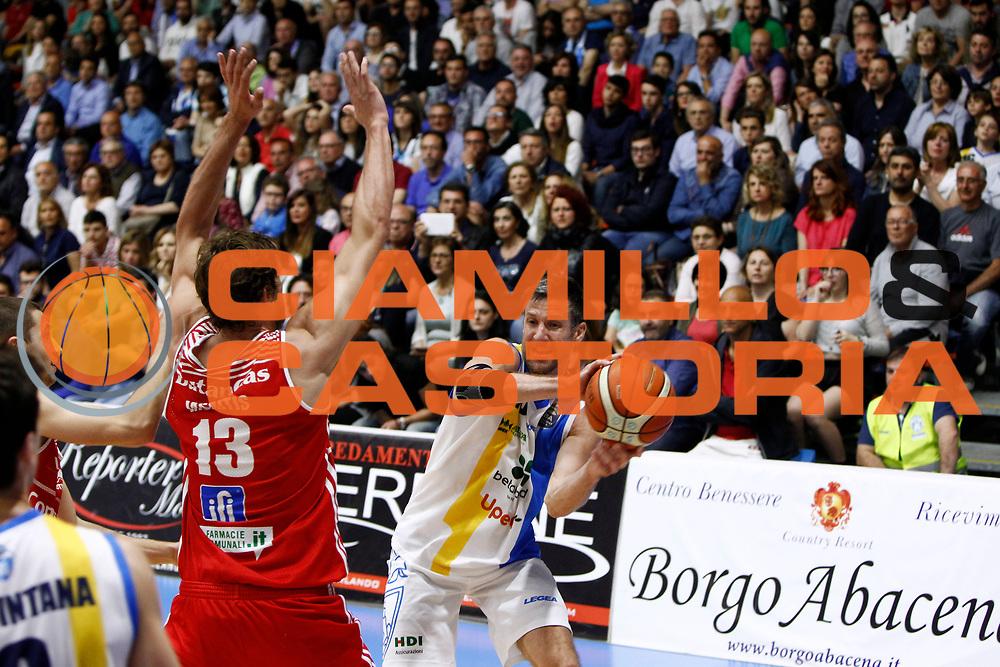 Drake Diener<br />Betaland Capo D'Orlando - Consultinvest Pesaro<br />Lega Basket Serie A 2016/2017 <br />Capo D'Orlando 07/05/2017<br />Foto Ciamillo-Castoria