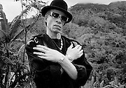 Reggae star Yellowman in Jamaica.