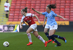 February 23, 2019 - Sheffield, England, United Kingdom - Kim Little (Arsenal) sprints away from Caroline Weir (Manchester City) during the  FA Women's Continental League Cup Final  between Arsenal and Manchester City Women at the Bramall Lane Football Ground, Sheffield United FC Sheffield, Saturday 23rd February. (Credit Image: © Action Foto Sport/NurPhoto via ZUMA Press)