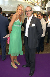 PAUL McKENNA and CLARE STAPLES at theThe Summer Ball in Berkeley Square , Londin W1 in aid of the Prince's Trust on 6th July 2006.<br />