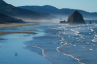 Scenic image of Cannon Beach, OR.
