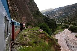 Route along the Mantaro River