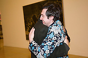 DAVID BIRKIN; JOHNNY VIVASH, Altermodern, Tate Triennial 2009, Tate Britain. London. 2 February 2009 *** Local Caption *** -DO NOT ARCHIVE-© Copyright Photograph by Dafydd Jones. 248 Clapham Rd. London SW9 0PZ. Tel 0207 820 0771. www.dafjones.com.<br /> DAVID BIRKIN; JOHNNY VIVASH, Altermodern, Tate Triennial 2009, Tate Britain. London. 2 February 2009