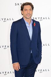 Javier Bardem poses for photographers at the photocall for the 23rd James Bond movie 'Skyfall', London, Thursday November 3, 2011. Photo By i-Images