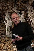 Christoph Camenzind, Leiter der Konzertreihe ECLATS CONCERTS am 22. Januar 2011 im Kunstmuseum Freiburg. © Romano P. Riedo