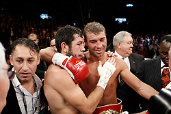 November 27, 2009; Quebec City, CAN; Lucien Bute vs Librado Andrade II at Colisee Pepsi in Quebec City, CAN.