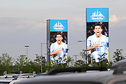 On June 9th, 2012 Argentina beat Brazil 4-3 at MetLife Stadium in East Rutherford, New Jersey, U.S.A. Pablo was the author of the images (displayed on ten 54ft by 20ft LED screens) which welcomed the sellout crowd of 81,994.