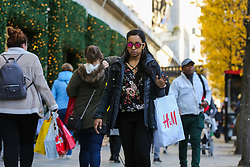 © Licensed to London News Pictures. 29/11/2019. London, UK. Shoppers take advantage of huge saving as stores on Oxford Street take part in Black Friday Sale Event.   Photo credit: Dinendra Haria/LNP