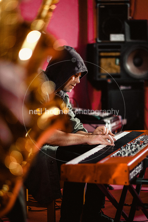 Studio, Kingston Upon Hull, East Yorkshire, United Kingdom, 09 January, 2018. Pictured: Pearls Cab Ride, Rockit Studio Rehearsal Room