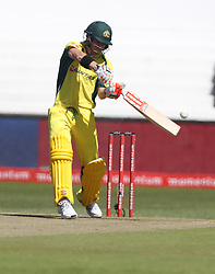David Warner of Australia during the 3rd ODI match between South Africa and Australia held at Kingsmead Stadium in Durban, Kwazulu Natal, South Africa on the 5th October  2016<br /> <br /> Photo by: Steve Haag/ RealTime Images