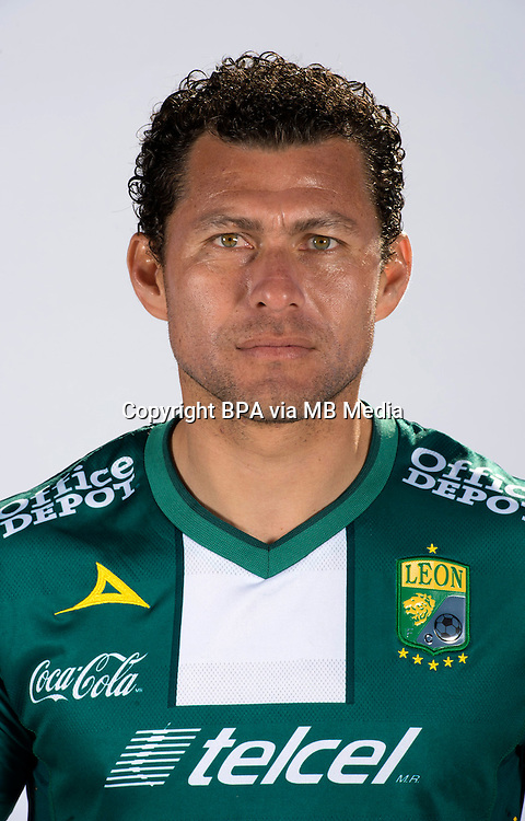 Mexico League 2013-2014 - First Division / <br /> Club Leon F.C / Mexico - <br /> MIGUEL SABAH