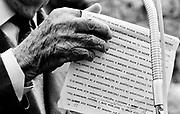 Italia, 2004, dal libro Ci resta il nome. Amos Pampaloni, ufficiale superstite della Divisione Acqui, sterminata dai tedeschi a Cefalonia e Corf&ugrave; nel settembre 1943.<br /> Surviving officer of the Acqui Division, which was massacred by the Germans at Cefalonia and Corfu in September 1943.