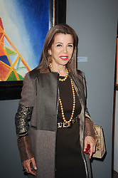 Private View of the Pavilion of Art & Design London 2010 held in Berkeley Square, London on 11th October 2010.<br /> Picture Shows:-PRINCESS FIRYAL OF JORDAN