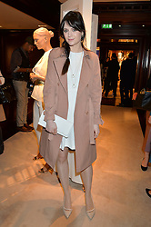 LILAH PARSONS  at a party to celebrate the publication of Front Roe by Louise Roe held at Ralph Lauren, 1 New Bond Street, London on 1st April 2015.
