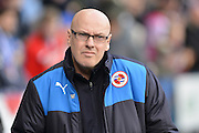 Reading FC Manager Brian McDermott during the The FA Cup fourth round match between Reading and Walsall at the Madejski Stadium, Reading, England on 30 January 2016. Photo by Mark Davies.