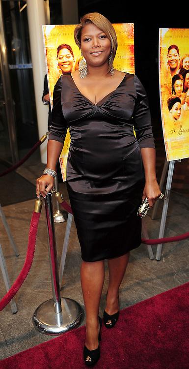 "Queen Latifah attends screening of ""The Secret Life of Bees"""