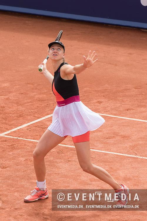 Mona Barthel (Germany) at the 2017 WTA Ericsson Open in Båstad, Sweden, July 26, 2017. Photo Credit: Katja Boll/EVENTMEDIA.