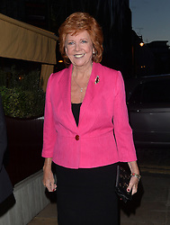 Cilla Black at Loulou's private members club in Mayfair, London, UK. 08/04/2014<br />BYLINE MUST READ : GOTCHAIMAGES.COM<br /><br />Copyright by © Gotcha Images Ltd. All rights reserved.<br />Usage of this image is conditional upon the acceptance <br />of Gotcha Images Ltd, terms and conditions available at<br />www.gotchaimages.com