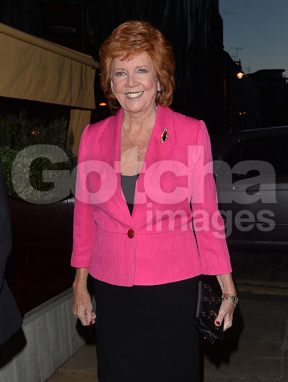 Cilla Black at Loulou's private members club in Mayfair, London, UK. 08/04/2014<br />
