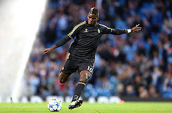 Paul Pogba of Juventus warms up during the UEFA Champions League group stage match between Manchester City and Juventus at the Etihad Stadium - Mandatory byline: Matt McNulty/JMP - 07966386802 - 15/09/2015 - FOOTBALL - Etihad Stadium -Manchester,England - Manchester City v Juventus - UEFA Champions League - Group D