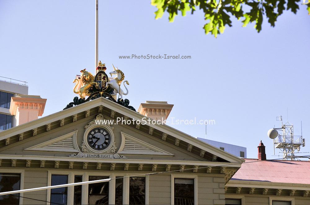 New Zealand, North Island, Wellington, Parliament library